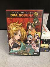 The Ambition of Oda Nobuna (DVD, 2014, 3-Disc Set) Anime