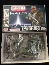 Sprukits Halo 4 Spartan Master Chief Level 3 Poseable Figure