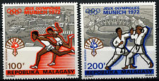Malagasy 1972 SG#225-6 Olympic Games MNH Set #D39676