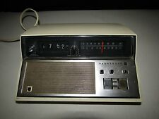 Vintage Panasonic RC-7148 AM/FM Flip Alarm Clock Radio Back to the Future Works