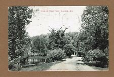 Madison,WI Wisconsin View in Tenny (sic) Tenney Park, used 1908