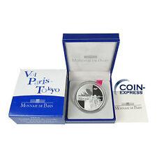 *** 1,50 Euro FRANKREICH 2003 AIR FRANCE FLUG PARIS TOKIO Silber 1,5 € Coin ***