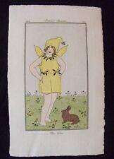 Marie-Madeleine Franc-Nohain (MFN)  Costumes Parisiens 1914 Un Lutin Pl. 140
