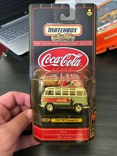 MATCHBOX COLLECTIBLES COCA COLA 1967 VW TRANSPORTER 21 WINDOW