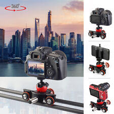 LENSGO Camera Video Track Dolly Motorized Slider Motor for Nikon Canon DSLR Vlog