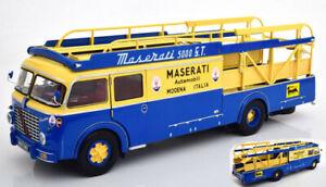 Fiat 642 Babs Maserati Race Transporter Truck 1:18 Model Cmr