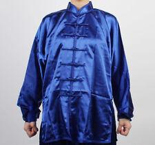 Chinese Wushu KungFu TAICHI Uniforms BLUES Taiji suit uniform shaolin Tai Chi