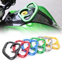 Motorcycle Fuel Tank Grab Hand Grip Handle Bar For Kawasaki ZX-6R Ninja 650 1000