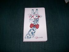 Pink With GiraffeTablet Case With Card Slots
