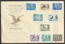 Ascension 1963 Bird definitive FDC SG 70-78
