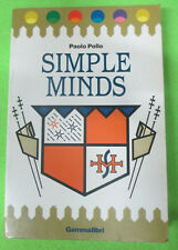 BOOK LIBRO Paolo Pollo SIMPLE MINDS 1986 GAMMALIBRI rockbooks no cd lp mc