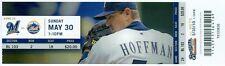 2010 Brewers vs Mets Ticket: Angel Pagan HR/Rickie Weeks 2 HRs/R.A. Dickey win