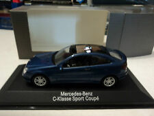 Minichamps 1/43 Mercedes-Benz C-Klasse Sport Coupè jasper blue metallic