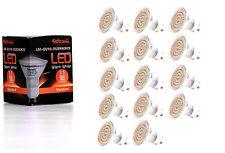 14X GU10 LED Lampe von Seitronic mit 3,5 Watt, 300LM und 60 LEDs Warm weiß 2900K