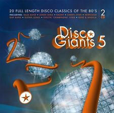 Disco Giants  Volume 5 (2-CD) Great 80's 12 inches