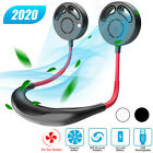 Bladeless Portable USB Rechargeable Neckband Neck Hanging Air Cooler Mini Fan US