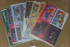 Japanese NES Famicom History Book Stickers Set - Zelda Mario Donkey Kong and Etc
