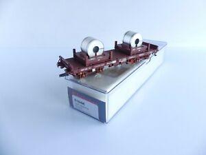 ELECTROTREN 5164K WAGON PLAT TRANSPORT DE BOBINES
