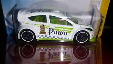 HOT WHEELS 2018 CHECKMATE  #9/9  '12 FORD FIESTA   (WHITE PAWN )