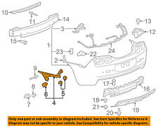 Chevrolet GM OEM 10-13 Camaro Rear Bumper-Side Bracket Right 92247764