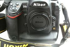 NIKON D3s 12.1MP DIGITAL SLR Camera(BODY ONLY) w/ Charger Shutter Counter 118786