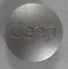 17 Inch Jeep Wrangler 52090401AB 2007 - 2017 Silver OEM Center Cap 9074