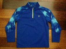 Boys Old Navy Active Go Dry 1/4 Zip Up Pullover sz S 6/7 Blue