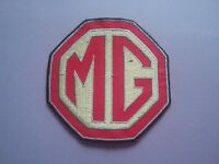 MG Sew or Iron On Patch Racing Car Motorsport Badge