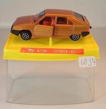 Guisval 1/64 Nr. 103 Citroen BX Limousine hellbraunmetallic OVP #6034