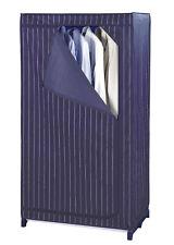 WENKO Faltschrank 150x75x50cm Kleider Stoff Schrank abwaschbar Camping Wäsche