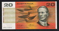 Australia R-406a.  (1976) 20 Dollars.  Knight/Wheeler - Centre Thread.. gEF