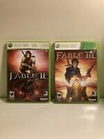 Fable II III Xbox 360 Games Cleaned and Tested! (Sold Individually)