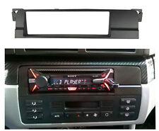 1 Din Fascia for BMW 3 Series E46 Radio DVD Dash Mount Trim Kit Frame Plate