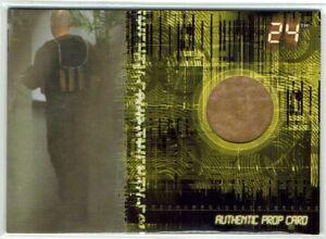 24 Season 5 Artbox 2008 Prop Relic Card P8 Terrorist's Bomb Vest #099/110