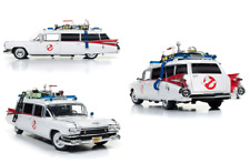 Ghostbusters Ecto-1 échelle 1:18 scale diecast Silver Screen Machine