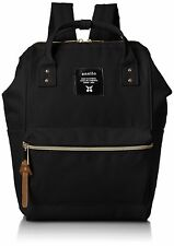 anello AT-B0197B black small backpack with side pockets F/S w/Tracking# Japan