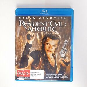 Resident Evil Afterlife Bluray Movie - Free Postage Blu-ray - Zombie Horror