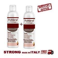 2 x Foltene Hair & Scalp Treatment  WOMEN SHAMPOO 2x 200ml -STRONG MADE IN ITALY