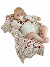 """KINNEX COLLECTIONS 20"""" ISABELLA BABY DOLL & CRIB 016 Collectible Girl NEW*"""