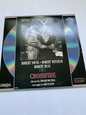 Crossfire Laserdisc LD Black & White