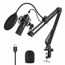Fifine USB Condenser Microphone Kit, Cardioid Streaming Podcast Mic Bundle K780A