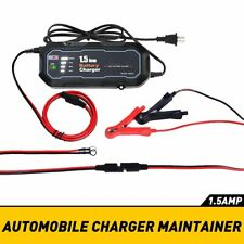 Car/ Motorcycle Battery Charger 12V 1.5Amp Automotive Battery Charger/Maintainer