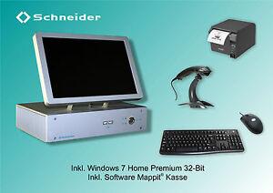 Schneider A4F® XI-Kasse Kassensystem Touch Lüfterlos AllinOne TSE Computerkasse