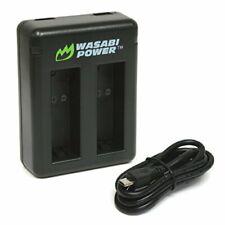 Wasabi Power Dual USB Battery Charger for GoPro HERO8 Black, HERO7 Black, HERO6