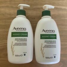 Aveeno Moisturising Cream 2x500ml Active Colloidal Oatmeal Dry & Sensitive Skin