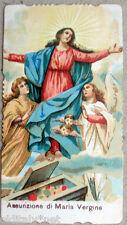 ✅  santino Madonna Assunzione di MARIA Vergine Fr.Rinaldini Napoli