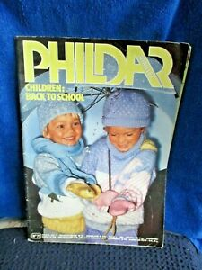 PHILDAR MAILLES CHILDREN KNITTING BOOK NO.77 RETRO VGC