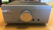 Class A Musical Fidelity M1 HPAP Silver Headphone Pre-Amplifier Original Box