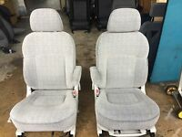 captain swivel seats camper van/motorhome/vivaro/t4/t5/van/vw transit lt crafter