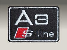 Audi A3 S-Line Toppa Patch Ricamata Termoadesiva